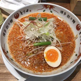 担々麺(博多担々麺 とり田)