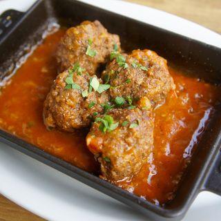 茶路産羊肉ボールのスペイン風トマト煮込み(SARU Apero Bistro)