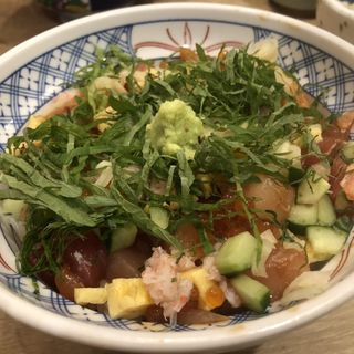 ちらし寿司丼(磯丸水産 中洲川端店)