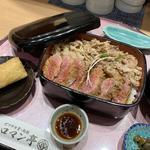 大阪ビフテキ重(ビフテキ重・肉飯 ロマン亭)