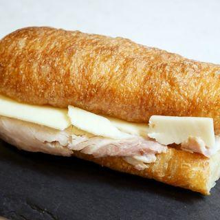 自家製ハム×グリュイエールサンドイッチ(365日と日本橋)