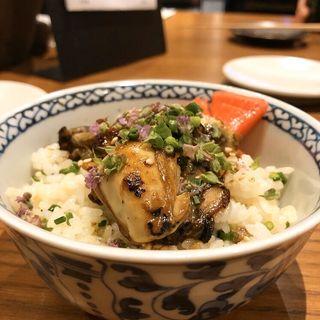 牡蠣の混ぜご飯(to.)