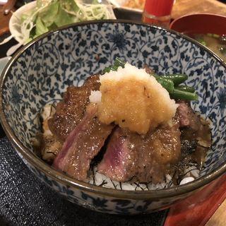 ステーキ御膳(なつかし家)