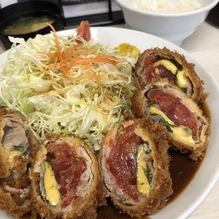オリジナルチーズカツ定食(味の店 一番 (あじのみせ いちばん))