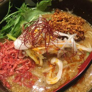 濃厚胡麻味噌担々麺(ど・みそ 八丁堀店 )