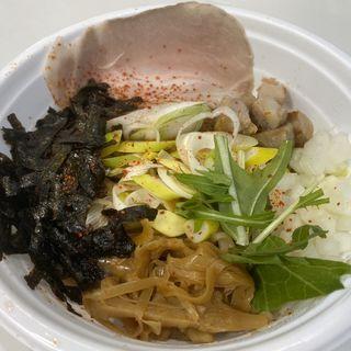 禁断の油そば(味噌担担麺 style林)