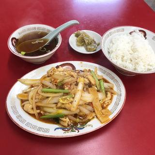 鶏肉の辛口炒め(上海亭)