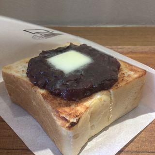 よい厚切りあんバタートースト(よいことパン 八事日赤店)