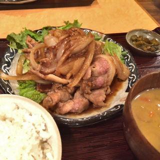 鹿児島 豚のしょうが焼き(九州鍋家 KATETE (かてて))