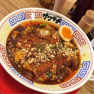 豚骨麻婆麺(スパイス食堂サワキチ 肥後橋店)