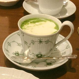 クリーム抹茶オ·レ(CAFE FACON (カフェ ファソン))
