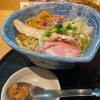 軍鶏そば(つけ麺 たけもと)
