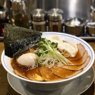 塩醤油中華そばDX(麺や マルショウ なんばウォーク店)