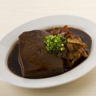 豪快!肉豆腐(立吉餃子 青山店)