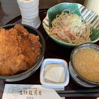 お蕎麦と小丼のセットランチ(九頭龍蕎麦 )