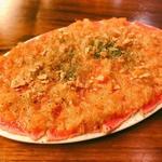 沖縄牛の炙りカルパッチョ