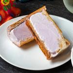 紅芋のパンアイス