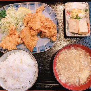 唐揚げ定食(いちりん )