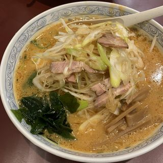 ねぎラーメン(中華麺工房 男爵 市川店 )