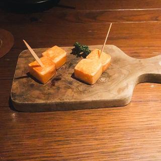 燻製チーズ(nakameguro 燻製 apartment)