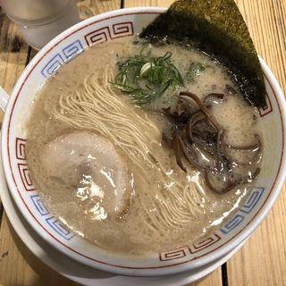 白ラーメン(つけ麺 中華そば 節 (旧店名:柳屋))