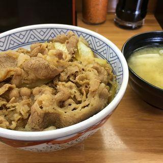 牛丼(味噌汁付き)(丼太郎 茗荷谷店 )