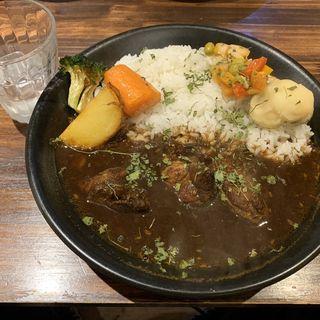 札幌スパイスカレーブラックチキン