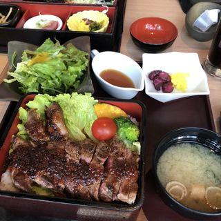 牛ロースステーキ御膳(京町しずく 銀座有楽町駅前店 )