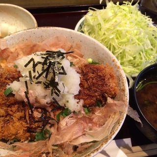 醤油かつ丼ヒレ(竹)(とんかつ武信)
