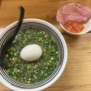 Buonoニラノそば(極麺 青二犀 (ゴクメン アオニサイ))