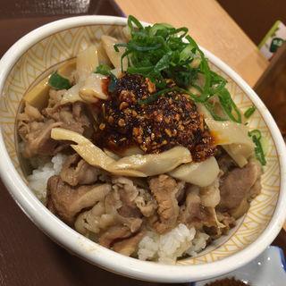 食べラー・メンマ牛丼(すき家 グリナード永山店  )
