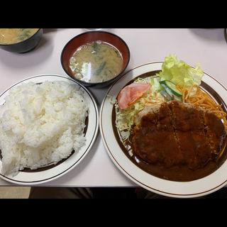 本日のサービスメニュー①ハンバーグステーキ(フジランチ )