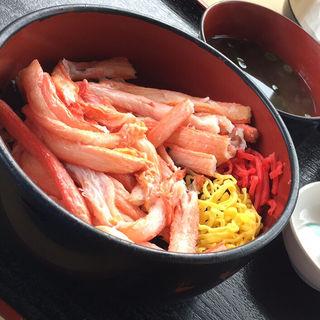 かに丼(海鮮丼 ととや (かいせんどん ととや))
