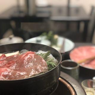 すき焼きBセット(日本橋 伊勢重 (にほんばしいせじゅう))
