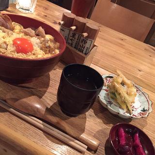 W親子丼ランチ(カッシーワ 茶屋町店 )