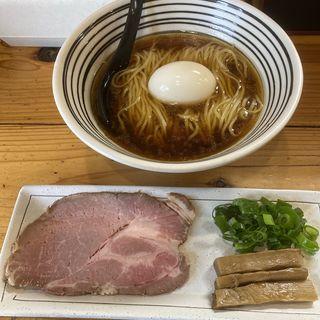 鶏としょうゆmadein但馬(極麺 青二犀 (ゴクメン アオニサイ))
