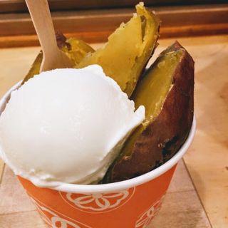 焼き芋アイス(ジャパニーズアイス櫻花)