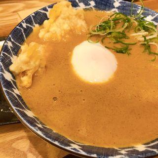 薬膳カレー蕎麦(北海道百そば 浅草橋店)