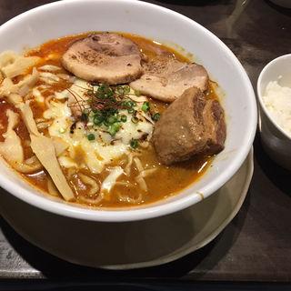 ニボ辛チーズ (限定)(千極煮干 (センゴクニボシ))