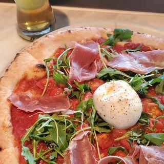 ブラータ、生ハム、ルッコラ(800ディグリーズ ナポリタン ピッツェリア (800DEGREES neapolitan pizzeria))