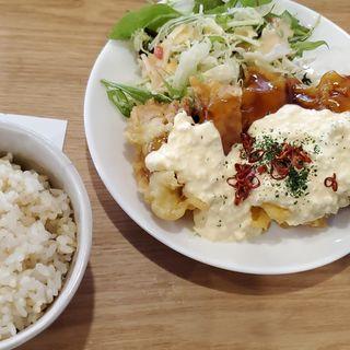 チキン南蛮定食(黒川食堂 )