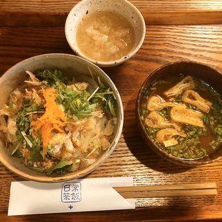 鷄ささみ丼(日常茶飯 )