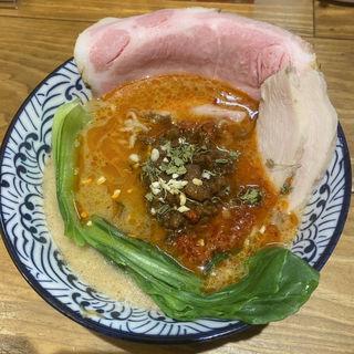 スパ石井DE豊潤NAスペシャル担担麺(お出汁とスパイス 元祖 エレクトロニカレー)