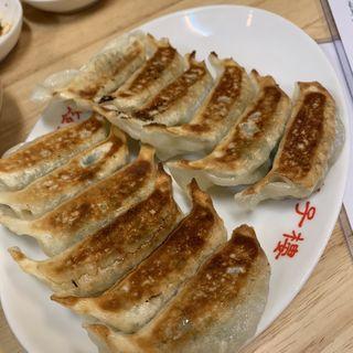 焼き餃子(ニラ・にんにく入り一皿6個)(東京餃子楼 茶沢通り店 )