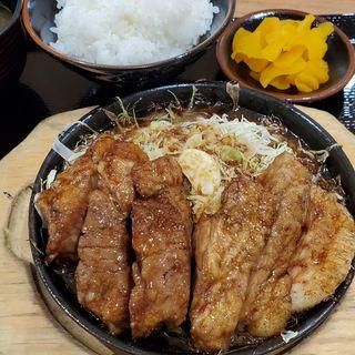 トンテキ定食(豚屋とん一 あべのキューズモール店)