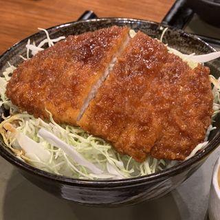 ソースかつ丼(自然や 横浜ポルタ店 (じねんや))