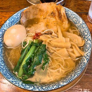 空海味玉そば 塩(麺屋 空海 海浜幕張店 )