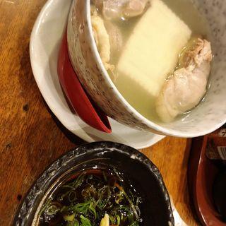水炊き(居酒屋 千日前えん)