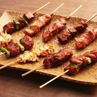 おまかせ串盛り(5種)(清水 HANARE )