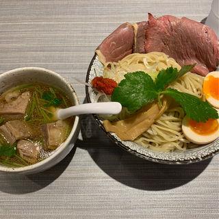 牛づくし清湯つけ麺 肉増し(だし廊 Mix 3号店)